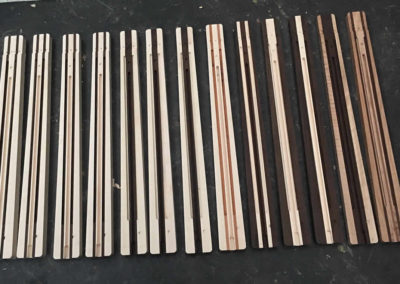 Available neck blanks for Kompakt Guitars.